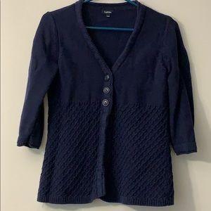 Reitmans medium Blue cardigan with buttons